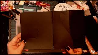Magnetic Fold out  Part 1 - Judy P's Crafty Journeys