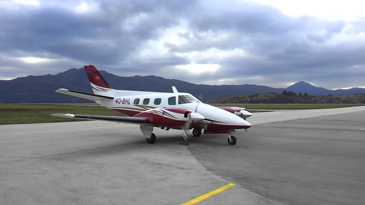 Beechcraft Duke Turboprop Beechcraft Duke Startup And