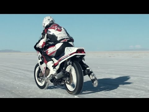 Racing Bonneville On a $300 Craigslist Motorcycle - RideApart