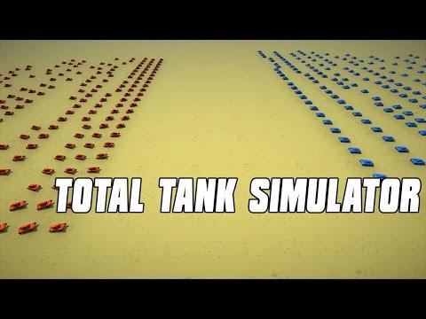 MASSIVE FLAME TANK ARMY - TOTAL TANK SIMULATOR
