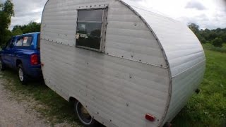 RV Living - Teardrop Travel Trailer Tour & What Happend to my Campervan