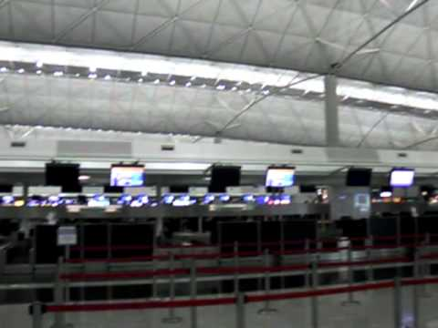 Inside Hong Kong International Airport - Chek Lap Kok Airport -HKG