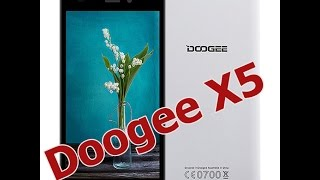 Doogee X5 Белого цвета / Doogee X5 White color