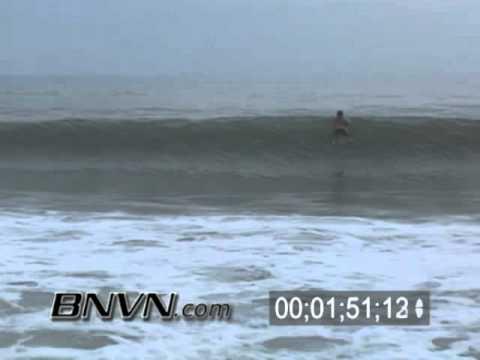 Hurricane Wilma Video 10/22/2005 Siesta Key Florida. Part 1