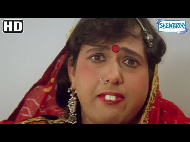 Comedy Scenes from Chhote Sarkar (HD) - Govinda   Shilpa Shetty   Kader Khan - 90's Bollywood Movie