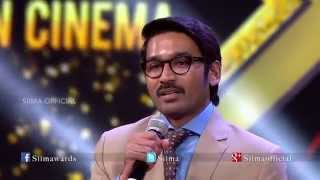 Micromax Siima 2015 | Pride Of South Indian Cinema For Dhanush | Tamil | Part 8