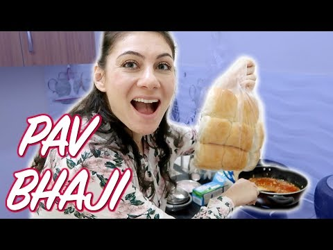 INDIAN FOOD: PAV BHAJI BY IVANA | TRAVEL VLOG IV