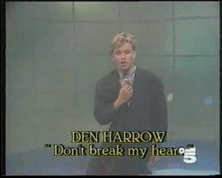 Dean harrow don t break my heart