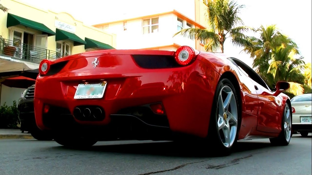 Awesome Miami Supercars Ferrari Lamborghini Mercedes
