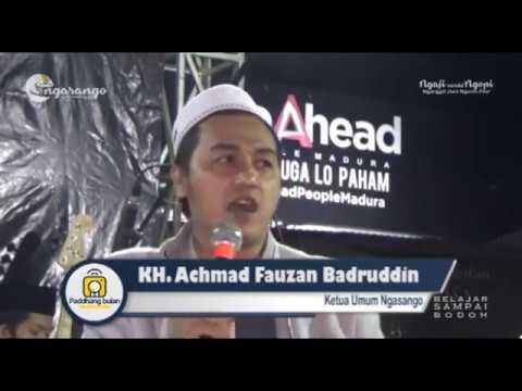 MENYOLATI ORANG KAFIR: KH. Ach Fauzan Badruddin #NGASANGO