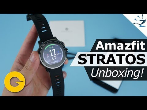 Xiaomi Amazfit 2 Smartwatch Unboxing, Hands On, First Impressions