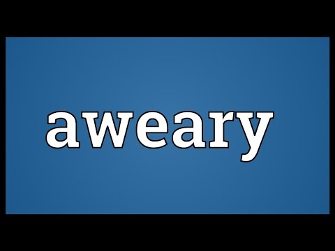 Header of aweary
