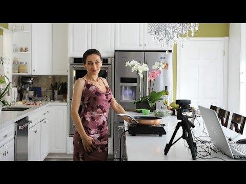 Ուղիղ Եթեր Մաս 2 - Խորոված Սմբուկով Աղցան -  Heghineh Cooking Show in Armenian Live Stream