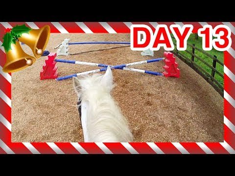 DAY 13 | HORSE FAIL ADVENT CALENDAR! | PonyCam