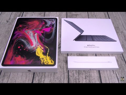 "iPad Pro (2018)  ""Unboxing And First Impressions"""