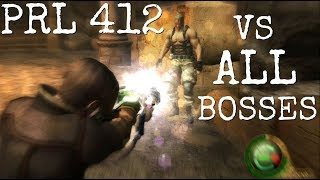 Killing ALL Bosses with the PRL 412 | Resident Evil 4 HD