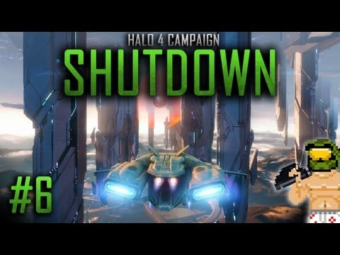 Halo 4 Campaign - Glitching Shutdown on Legendary