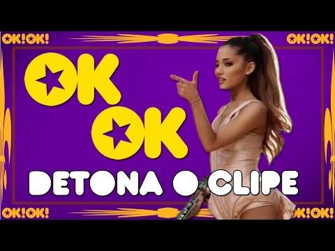Ariana Grande quebrando livre | OK!OK! Detona o Clipe