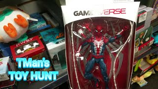 How TMan found PS4 Spidey & Another Rare Marvel Legends Fig: TMan's TOY HUNT #148