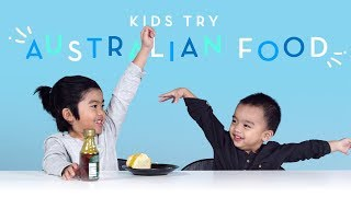 Kids Try Australian Food