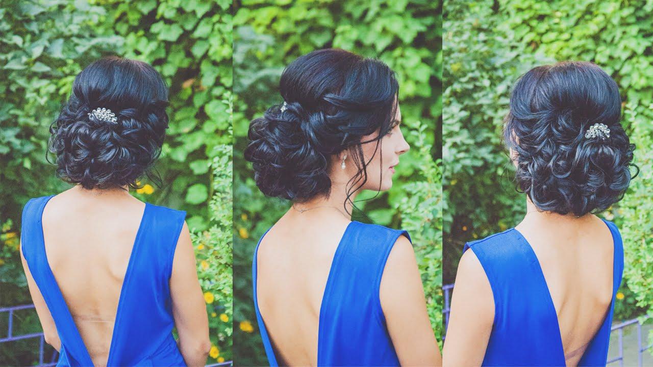 Прически на короткие волосы с накладными волосами фото
