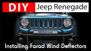 DIY: Installing Jeep Renegade Wind Deflectors by Farad