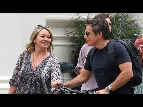 Ben Stiller and Christine Taylor All Smiles in First Public Outing Together Since 2017 Split