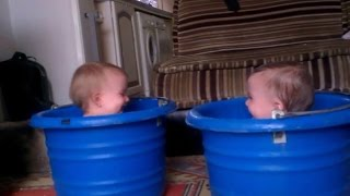 Twin baby Bathing Together || Ultimate Twin baby Compilation (HD)