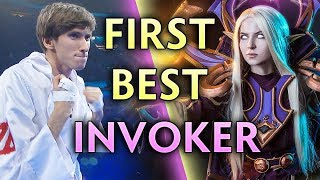 DENDI shows why he was FIRST BEST INVOKER in Dota 2