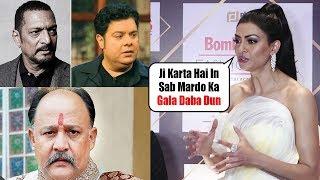 Sushmita Sen's STRONG REACTION on Tanushree Dutta Nana Patekar Incident & Sajid Khan Matter