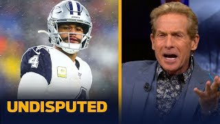 Skip Bayless reacts to the Dallas Cowboys' Week 12 loss to the Patriots | NFL | UNDISPUTED