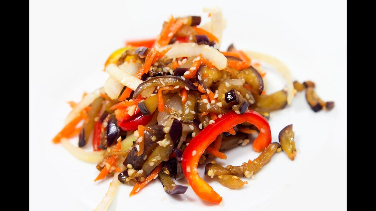 Баклажаны с мясом по-корейски рецепт