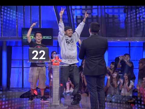 Abra & Loonie on KAPAMILYA, DEAL OR NO DEAL 06.15.13