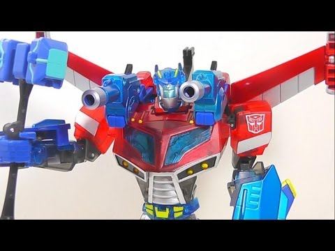 TRANSFORMERS ANIMATED WINGBLADE OPTIMUS PRIME EN ESPAÑOL