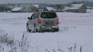 Pathfinder and Forester have problem in snow 2