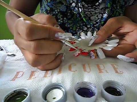 aprenda a usar os pincel de varias maneiras flor carga dupla mais facel ery design