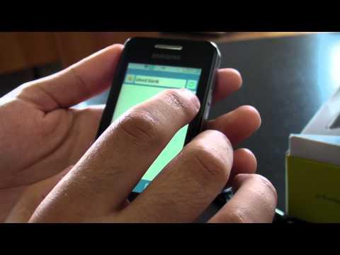 Samsung C6712 Star II DUOS review HD ( in Romana ) - www.TelefonulTau