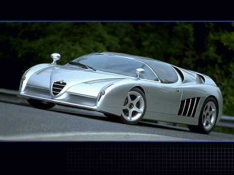Alfa Romeo Italdesign Scighera Presentation - YouTube
