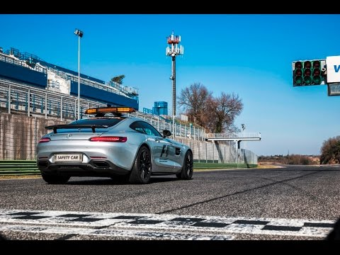 Introducing the 2015 Formula One Safety Car - The Mighty Mercedes-AMG GT S!
