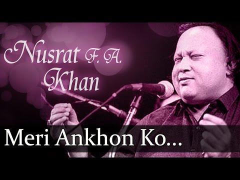 Meri Ankhon Ko Ankhon Ka - Nusrat Fateh Ali Khan - Top Ghazal Songs