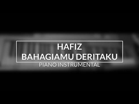 Hafiz - Bahagiamu Deritaku (Piano Instrumental Cover - Top View)