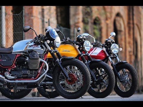 Presentación Moto Guzzi V7 II 2015: Stone, Special, Racer