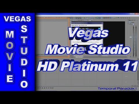 Sony Vegas Movie Studio HD Platinum 11