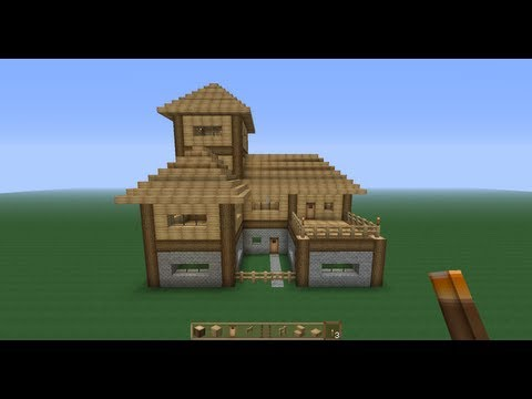 Perfect Minecraft Survival House!! -Tutorial