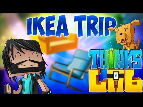 BUYING NEW FURNITURE!! | Think's Lab Minecraft Mods [Minecraft Roleplay]