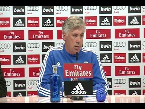 Ancelotti confirma que Cristiano no estará mañana