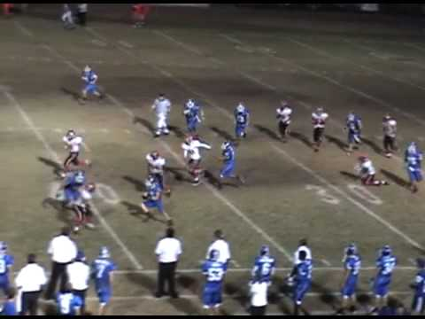 Burbank High School Football 2009 Season- Sam Bethany #5