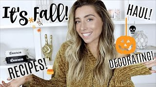 GETTING READY WITH ME FOR FALL! by : Lauren Elizabeth