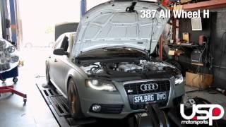USP Motorsports Audi 3.0T Supercharged Intake Comparison - Dyno Testing