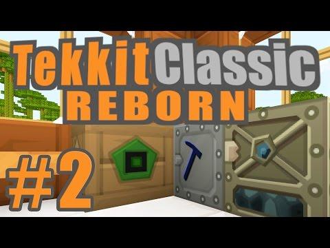Macerator & Electric Furnace   Tekkit Classic Reborn   Episode #2